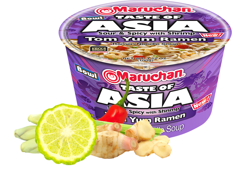 Taste of Asia Sour & Spicy with Shrimp Tom Yum Ramen