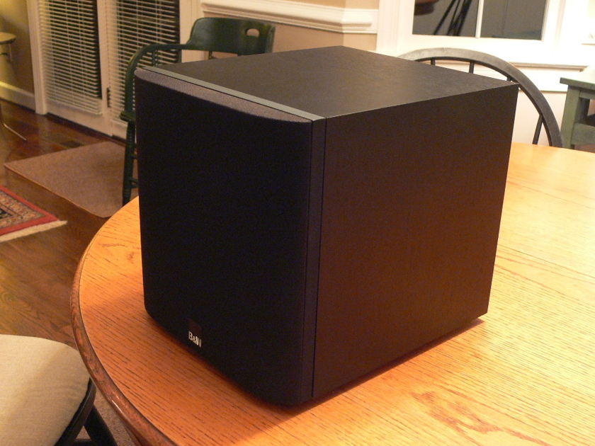 b w asw 608 powered subwoofer subwoofers audiogon. Black Bedroom Furniture Sets. Home Design Ideas