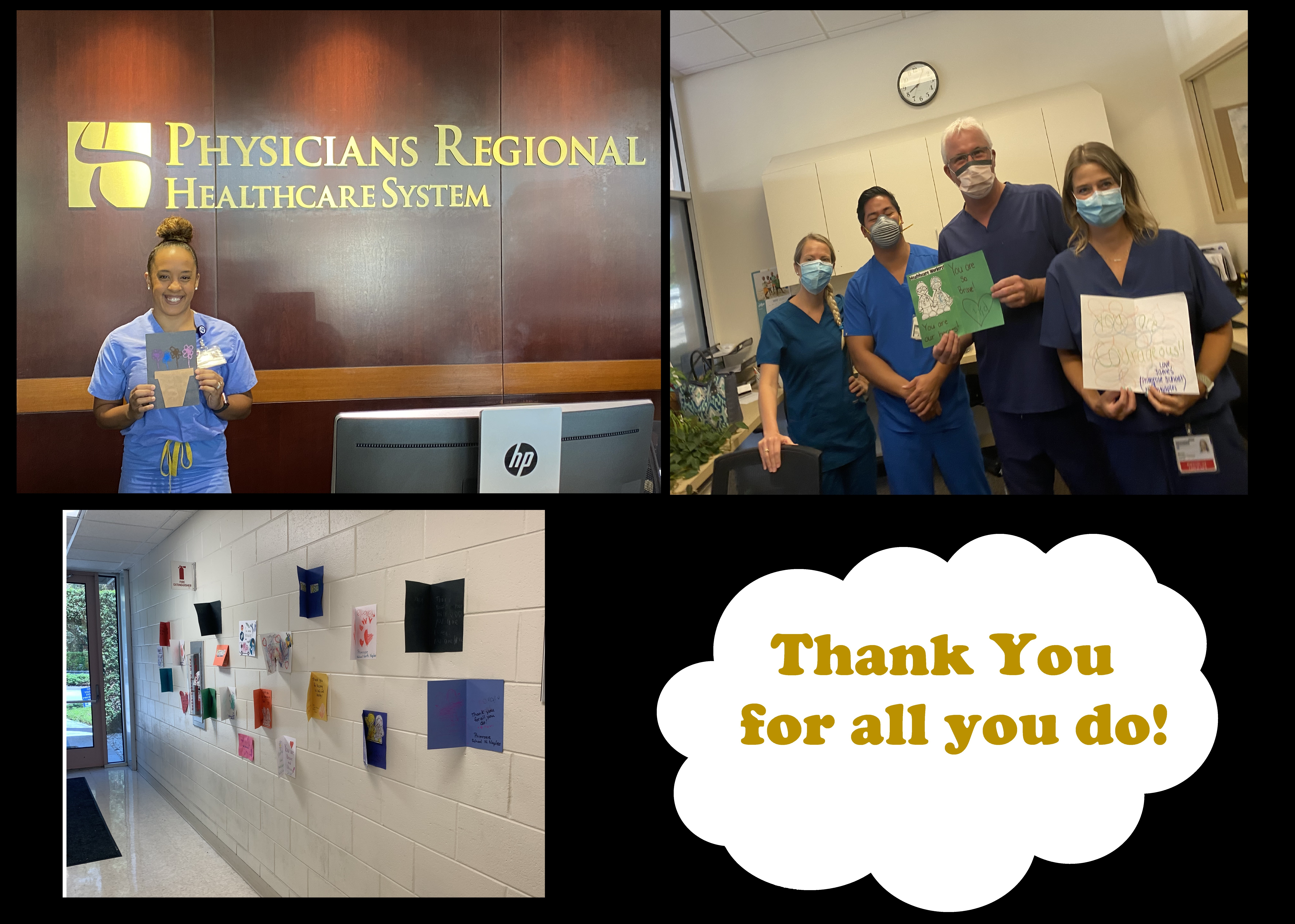 Healthcare Workers Accept Cards