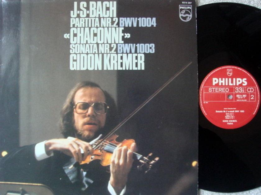Philips / GIDON KREMER, - Bach Partita No.2, Sonata No.2, NM!