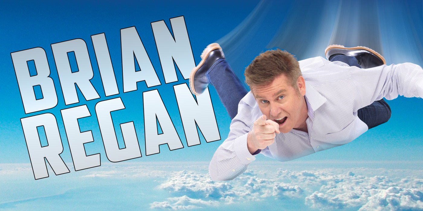 Brian Regan at the Shubert Theatre