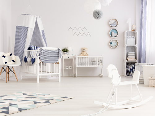 Gender neutral nursery: designing for both sexes
