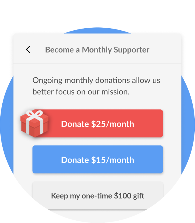 Checkout – Fundraise Up