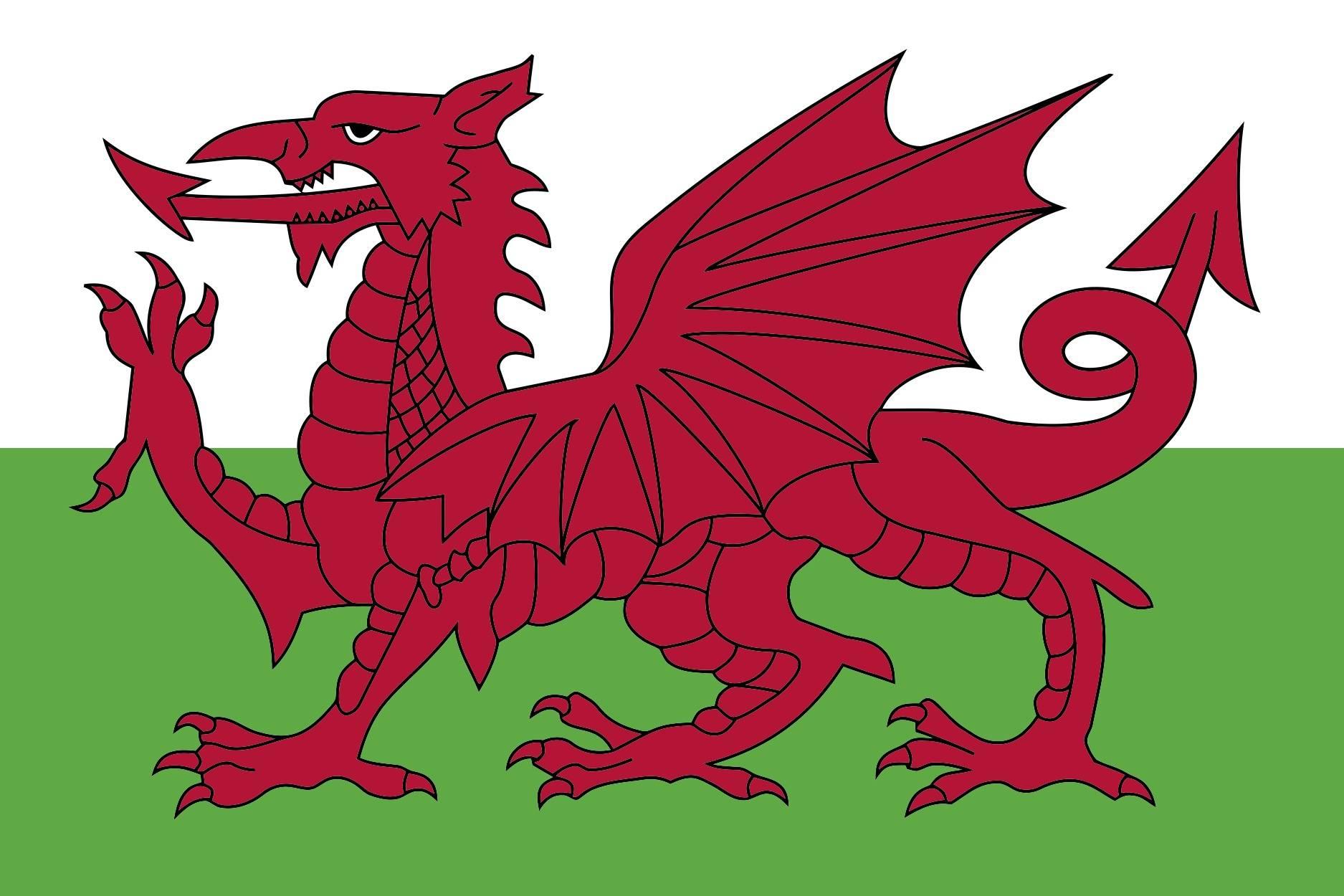 Wales Flag Celtic Festival Online