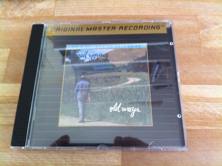 Neil Young - Old Ways MFSL Ultradisc II - gold CD