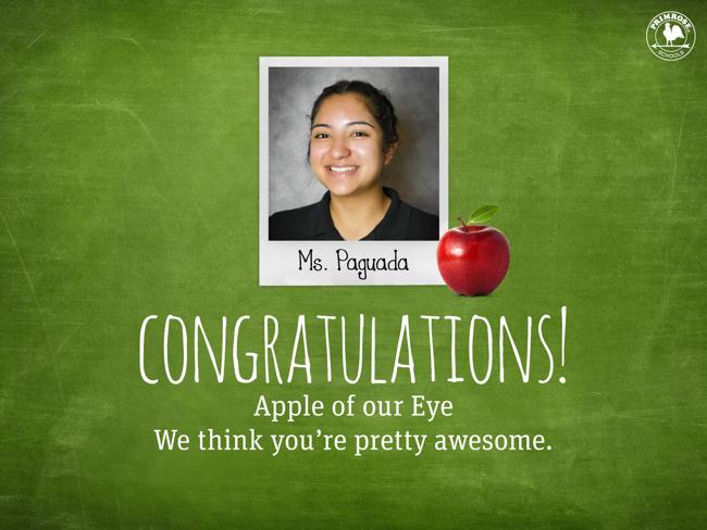 Apple of our Eye Teacher