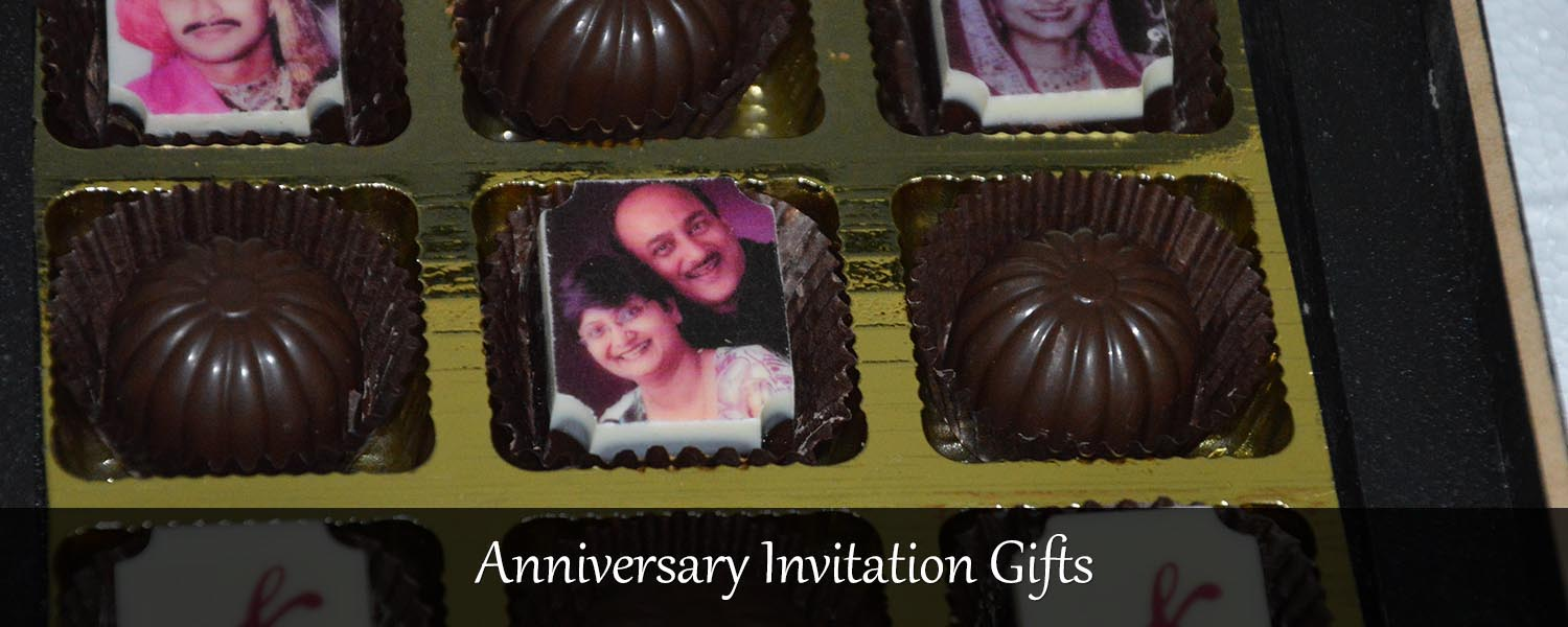 marriage anniversary invitation gifts