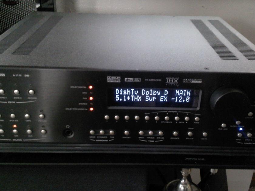 Anthem Avm 30 w/ 2 Remotes MINT!  Superb preamp section! obm LOOK!!