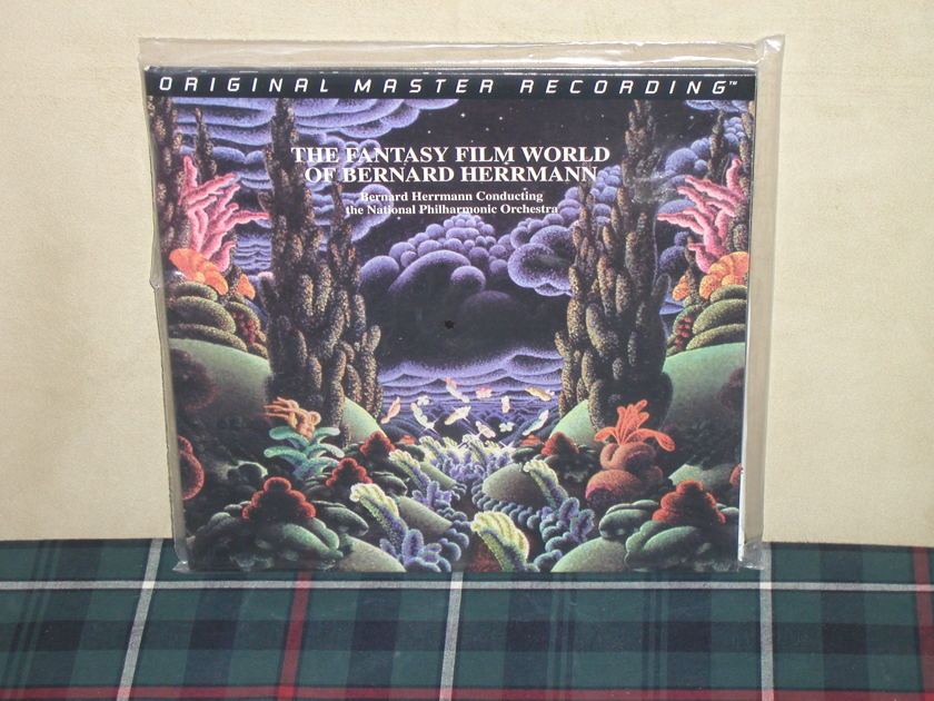 Herrmann/NPO  The Fantasy - Film World MFSL/SEALED 200g Anadisq Ltd Ed #0847