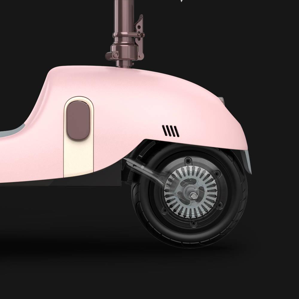 okai ea10 escooter motor rear wheel