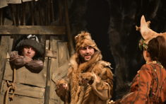 Сказка о том, как волк Абга стал рыбаком