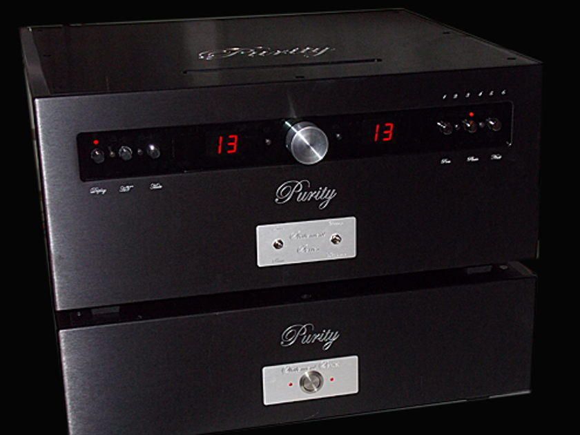 Purity Audio Design Statement -  Dual Mono Balanced Tube Linestage NEW-SAVE $5,500