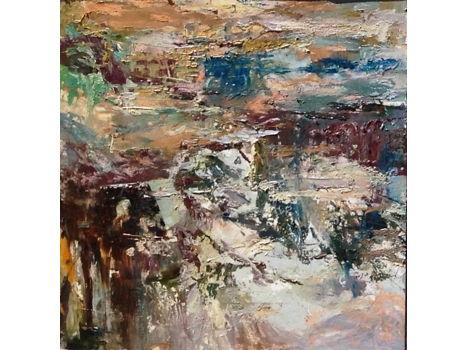 """Marcia Holmes """"Pond Triptych I"""" (Nympheas et Ciel)"""