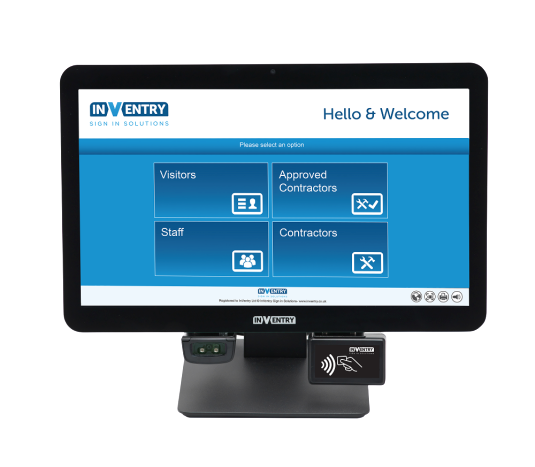 Inventry Touch Screen Visitor Management System
