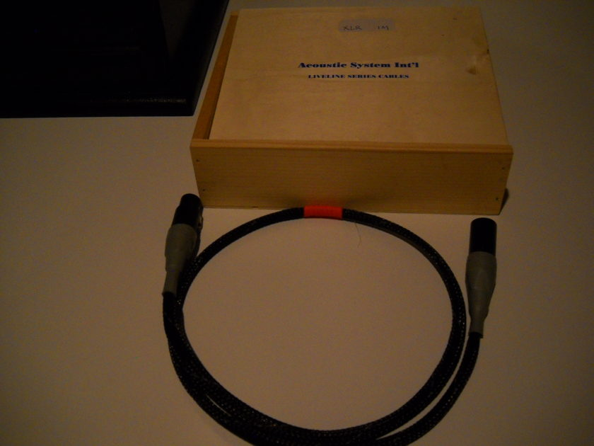 ASI Liveline 1 meter Digital cable XLR AES Outstanding