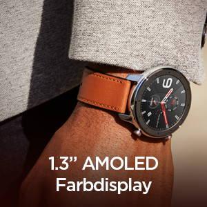 Amazfit GTR 47 mm - 1.3-inch AMOLED color screen