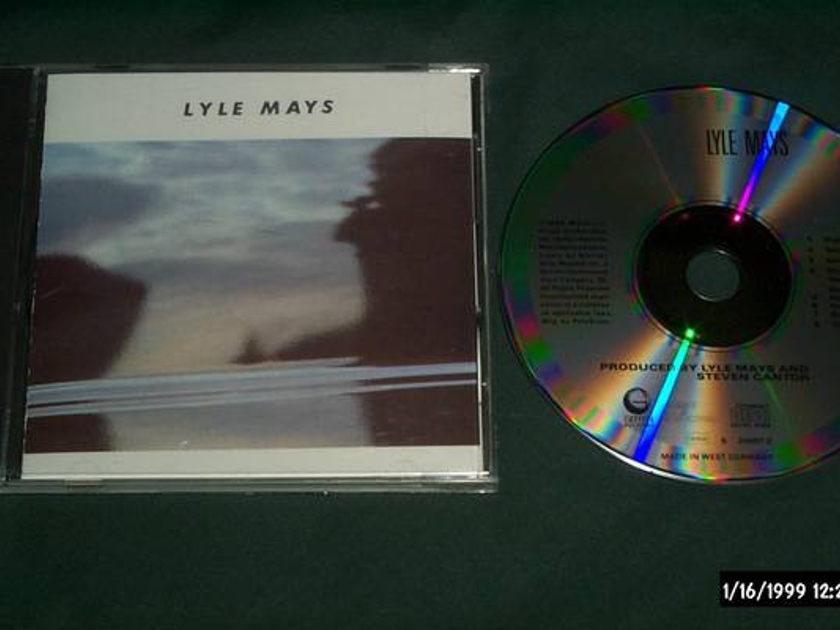 Lyle mays - Lyle Mays ecm germany 1st issue cd