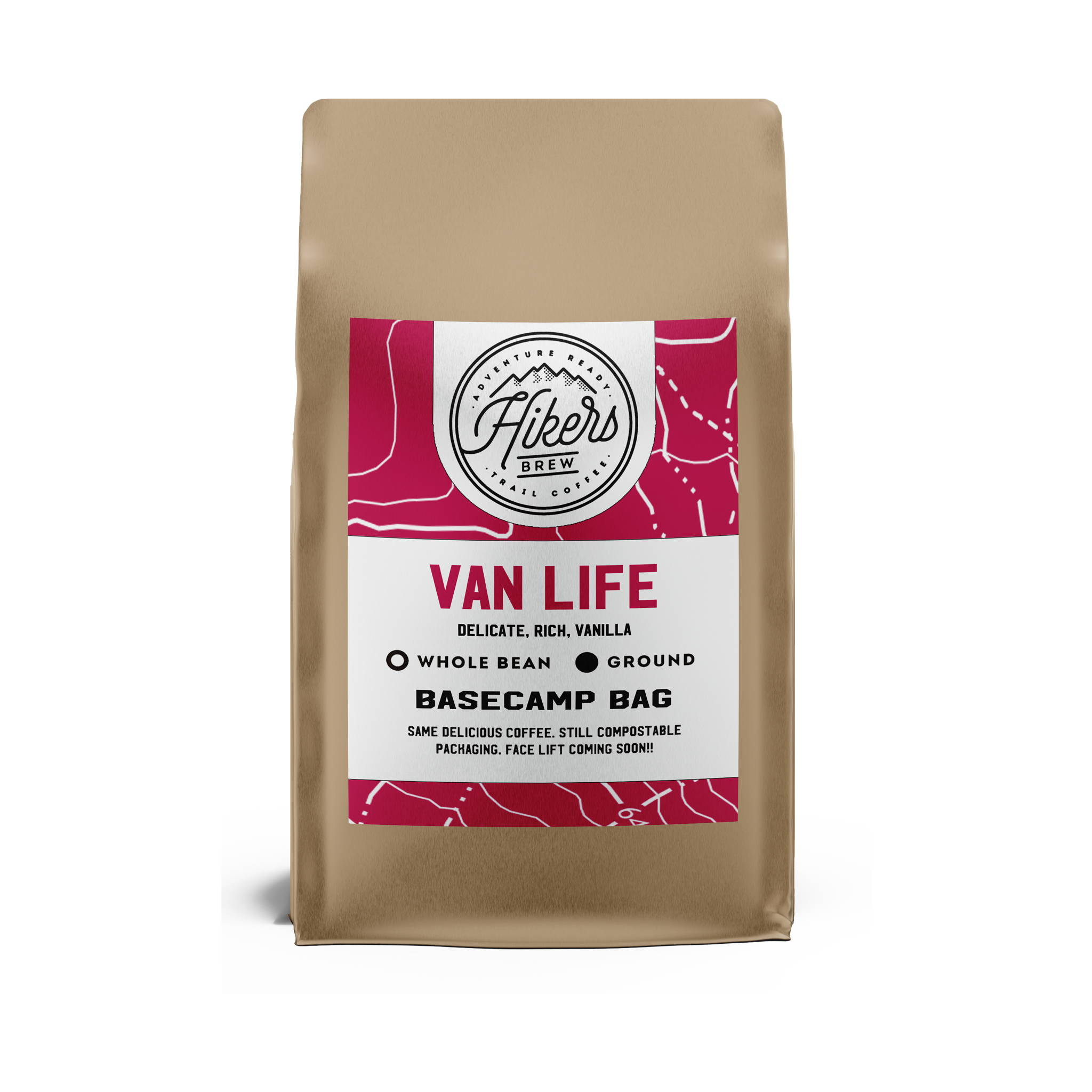 Van Life - French Vanilla Flavored Coffee - 12 oz.