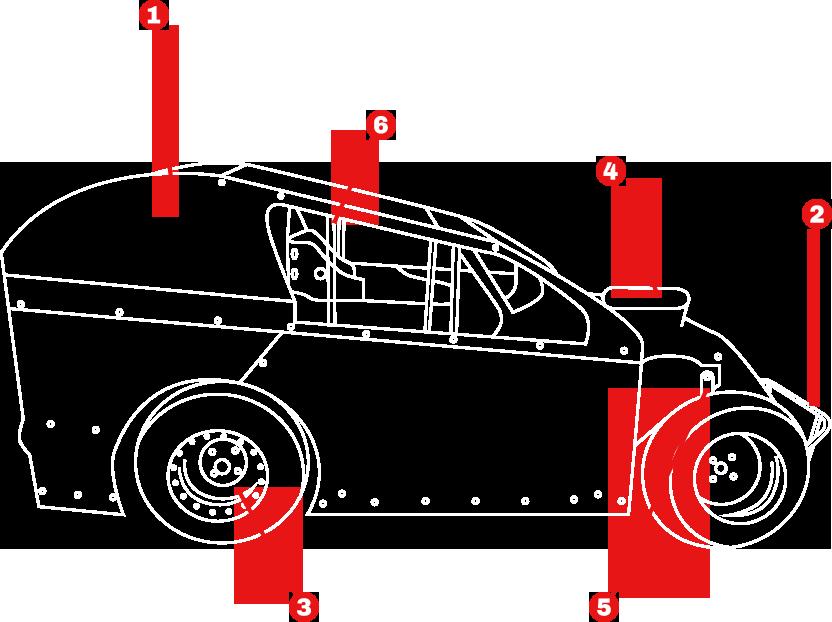 MOD LITE & DWARF CARS PARTS & ACCESSORIES | PRO RACE CARS
