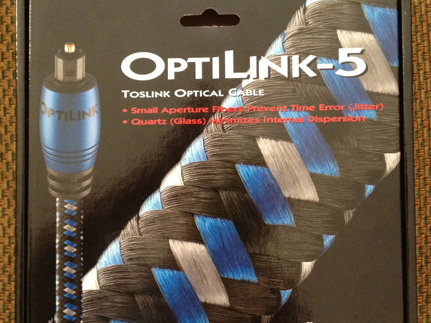 Audioquest Optilink 5 toslink optical cable 1 meter
