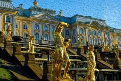 Петергоф (Императорский Дворец)