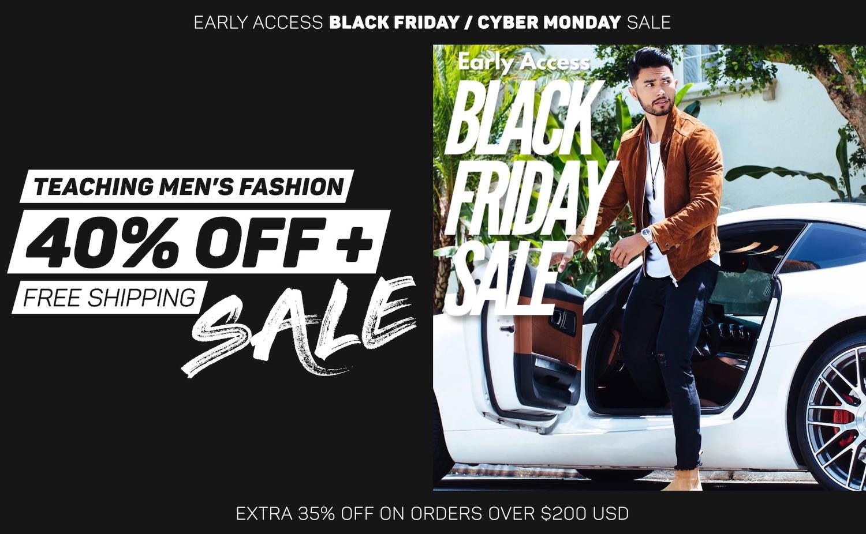 Teaching Men's Fashion 40% Off