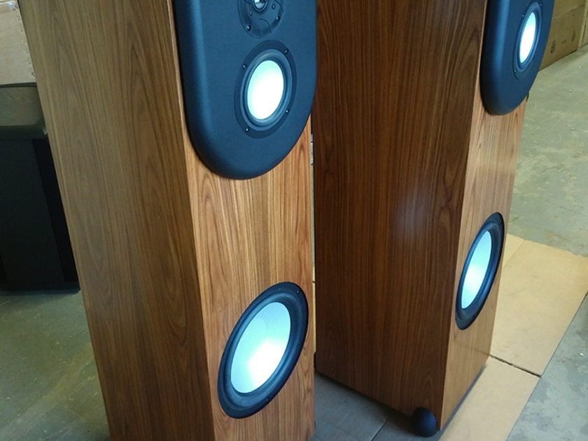 Revel Performa F-30 Full Range 3-Way Speakers USED Pair (Finish: Rosewood)