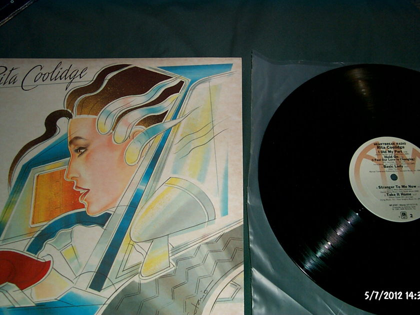 Rita Coolidge - Heartbreak Radio LP NM A & M Label