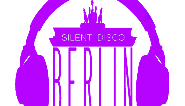 silent disco berlin symbol lila