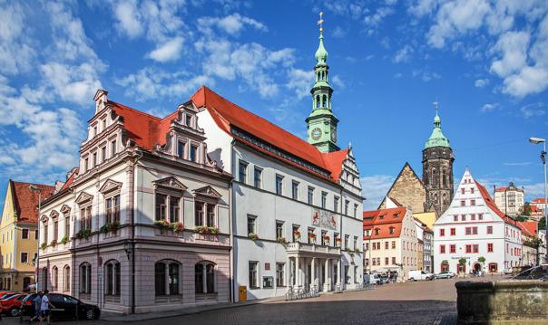 В Пирну из Дрездена