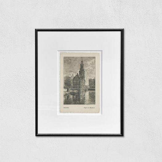 Открытки с видами городов на выбор (оригиналы, 19 век): Амстердам, Париж, Москва, Венеция, Оксфорд