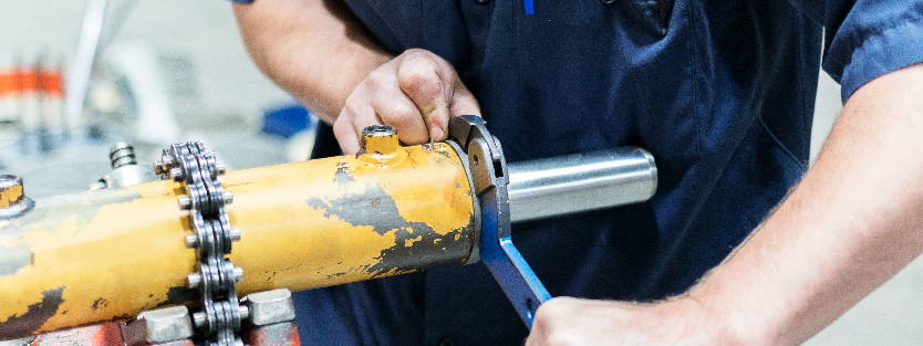 We offer hydraulic services like cylinder repair, pump repair, valves and more