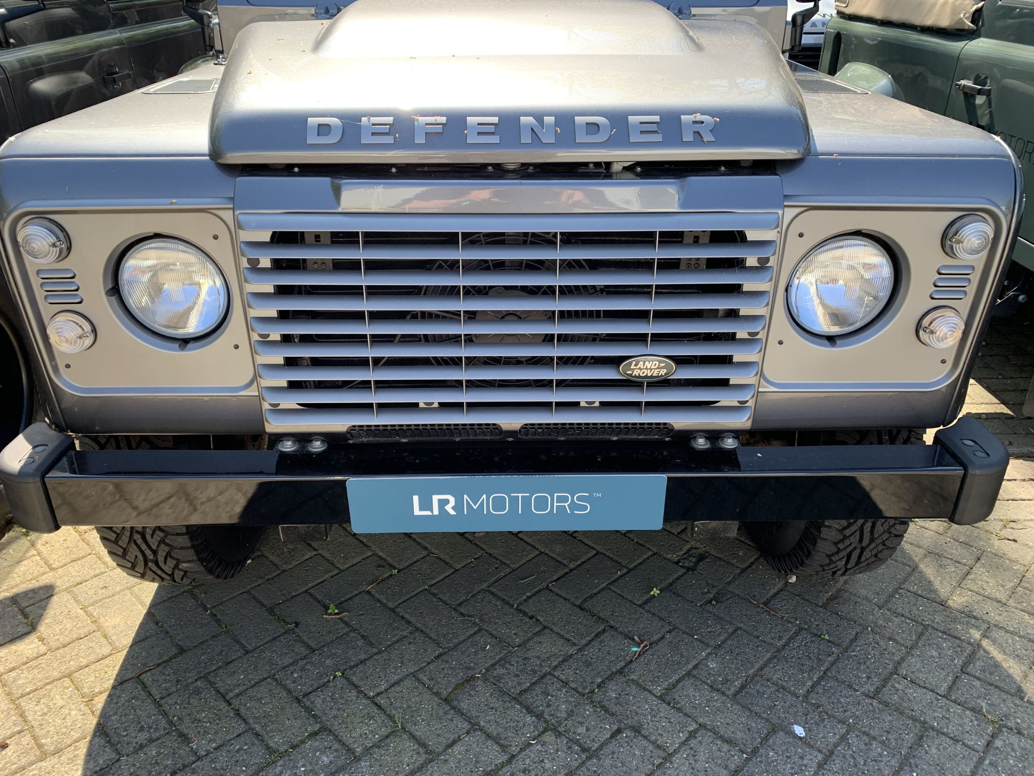 DEFENDER BRUNEL GREY GRILLE AND LIGHT SURROUNDS's featured image