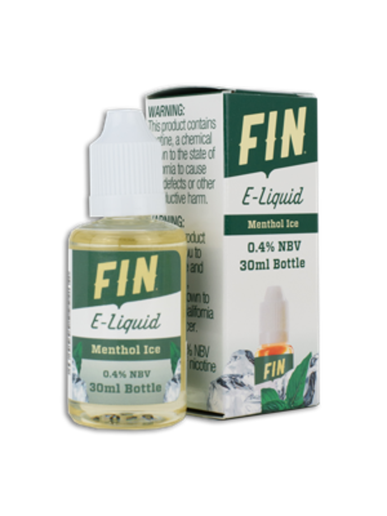 FIN E-Liquid 30ML Bottle Menthol Ice