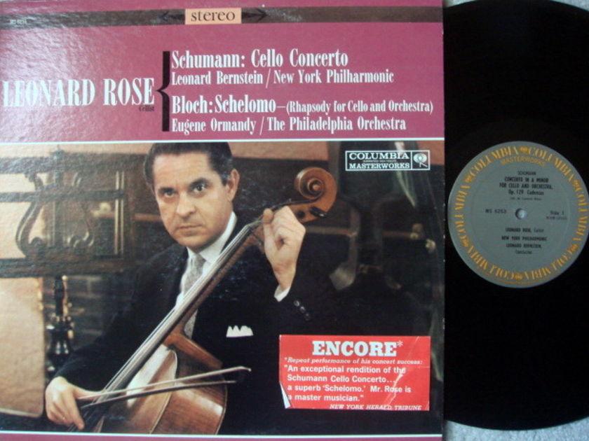 Columbia / ROSE-BERNSTEIN, - Schumann Cello Concerto, MINT!