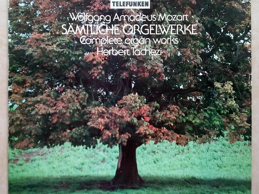 TELDEC   HERBERT TACHEZI/MOZART - Complete Organ Works / EX