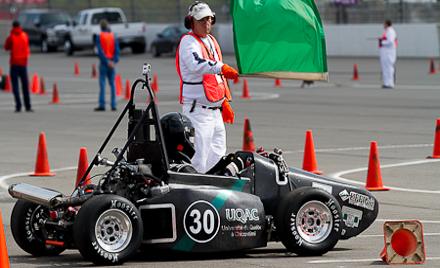 2017 Formula SAE - SCCA volunteers