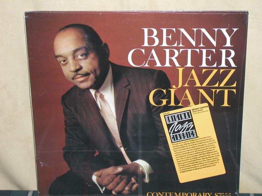 Benny Carter  - Jazz Giant  Still SEALED Contemporary OJC-167(S7555)