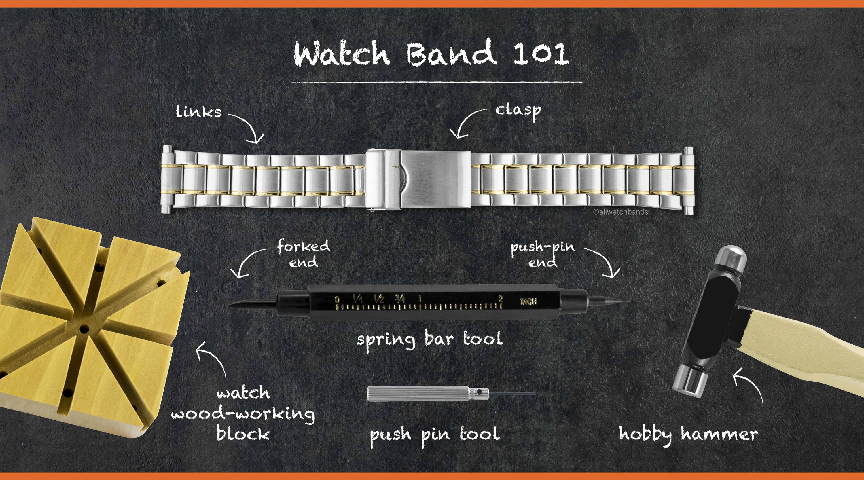 Watch Band Adjustment Guide