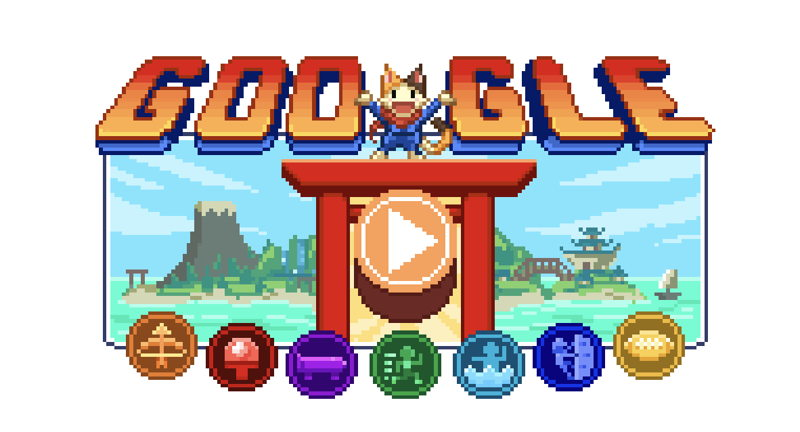 Play the Olympics-Themed Google Doodle Game