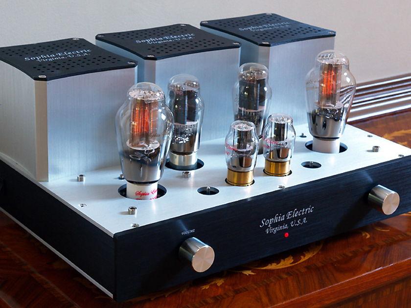 Sophia Electric 91-03 dual-mono 300B single ended stereo amplifier PFO writer award winner