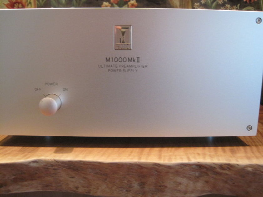 Kondo AudioNote Japan M1000 MKII w/phono board SFz included