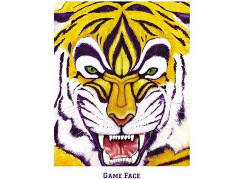 Game Face Print