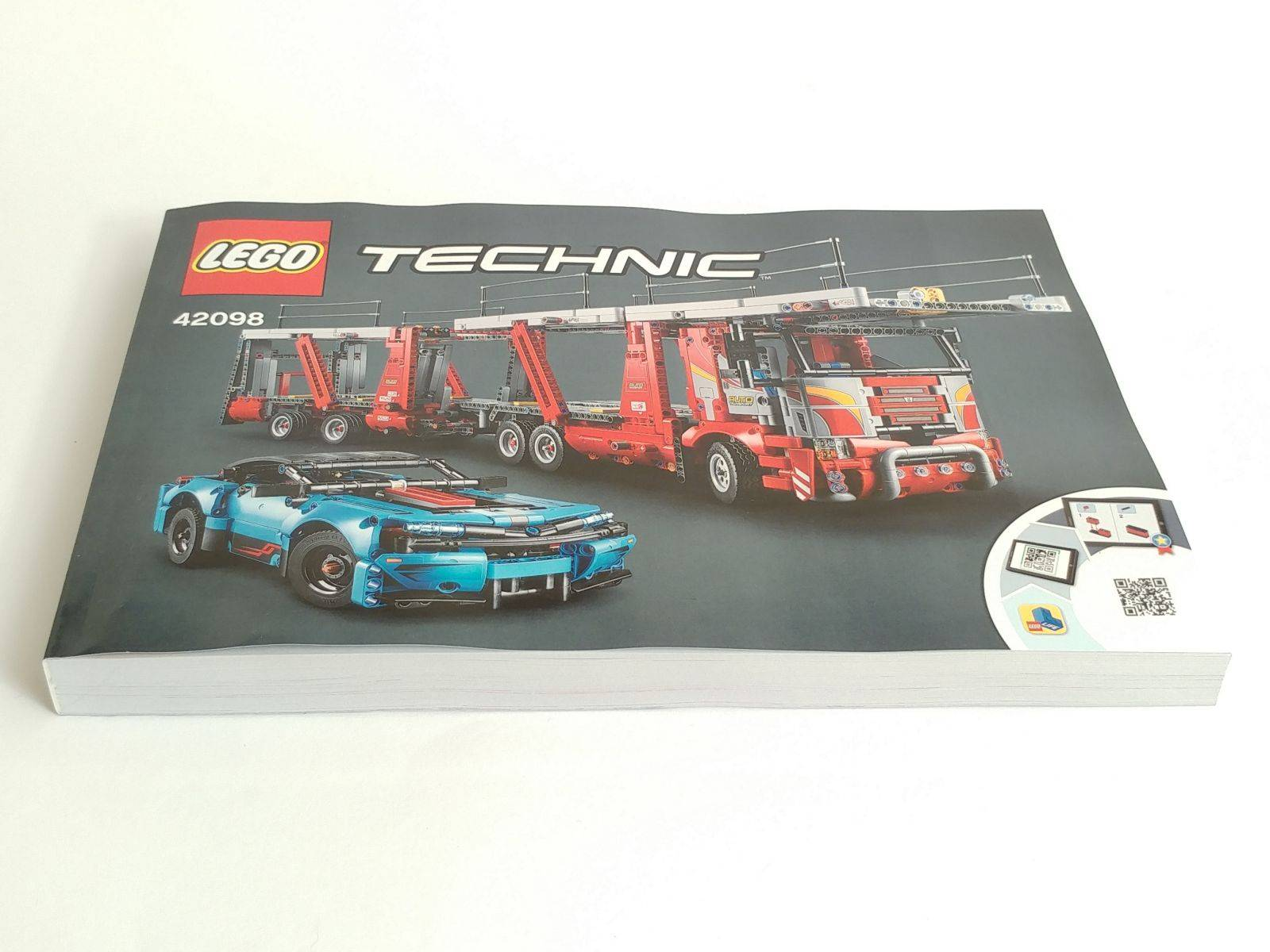 lego 42098 booklet
