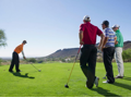 Golf Threesome with George Young + $50 Gift Card to Snooze: An AM Eatery