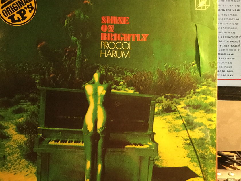 PROCOL HARUM - SHINE ON BRIGHTLY-HOME  Double Pack