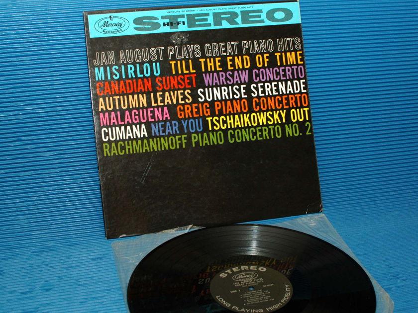"JAN AUGUST -  - ""Plays Great Piano Hits"" -  Mercury 1959 Stereo Rare"