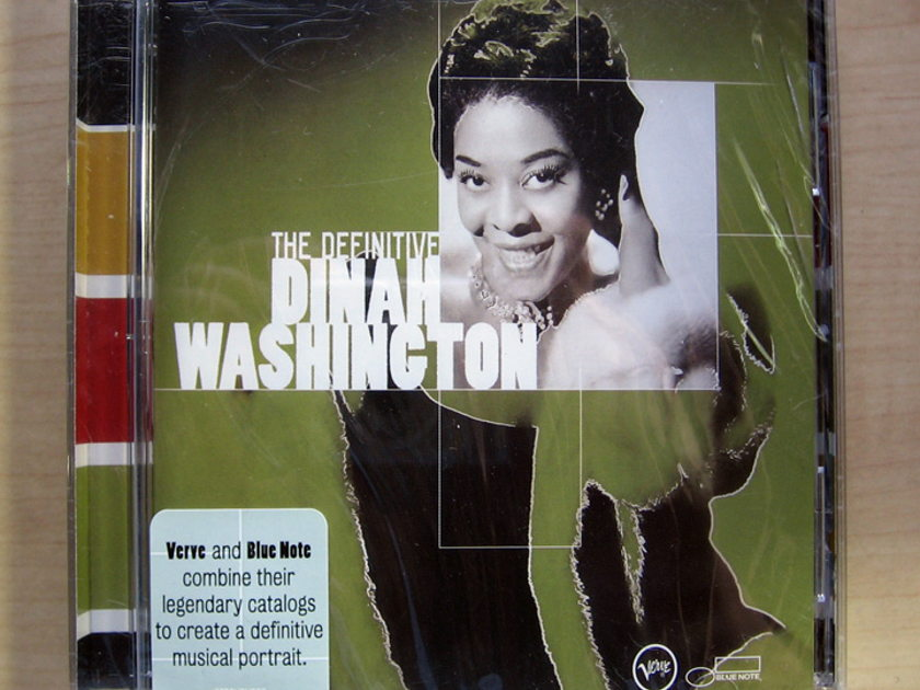 Dinah Washington - The Definitive Dinah Washington - Factory Sealed New CD VERVE 314 589 839-2