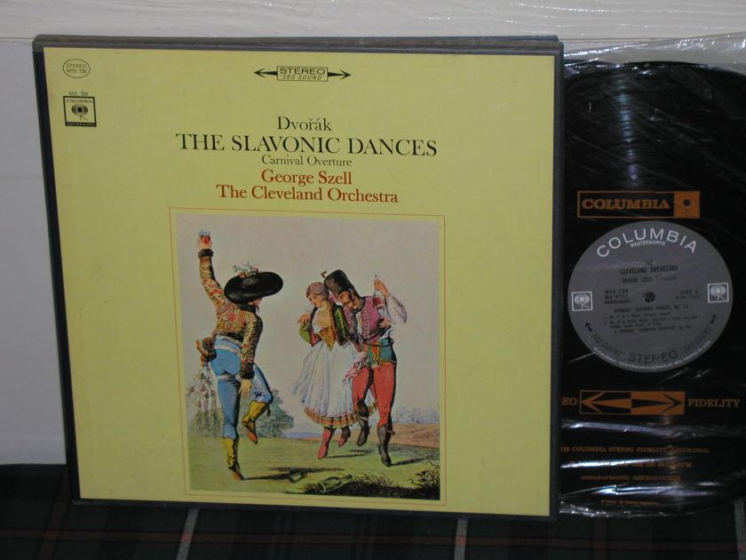 Szell/TCO Dvorak Slavonic  - Dances 2LP Box <360> 1st  Columbia M2S 726