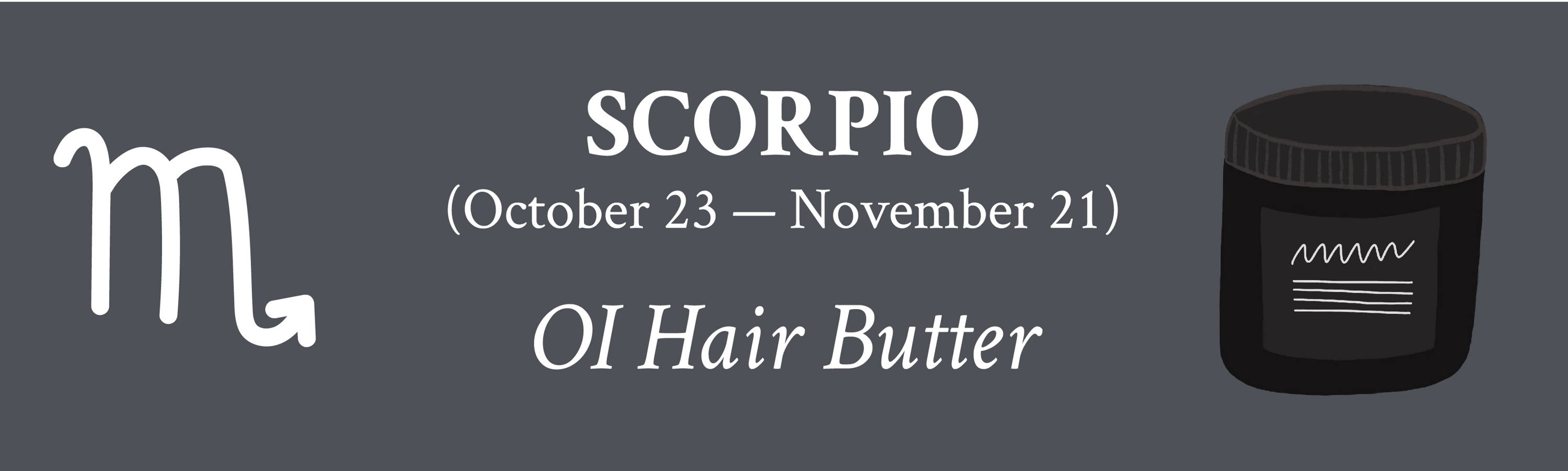 For Scorpio Davines OI Hair Butter